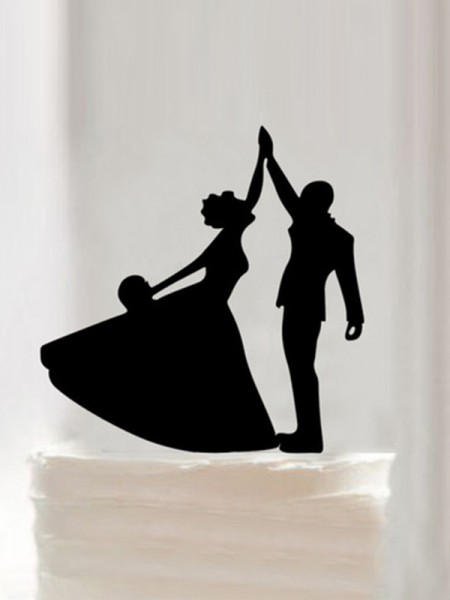 Unique Acrylic Cake Topper