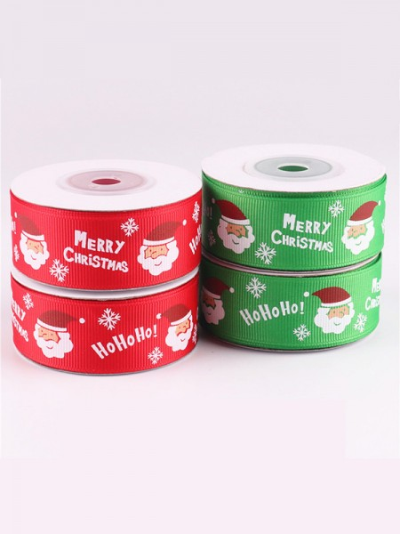 Pretty Good Santa Claus Christmas Ribbons(2 Pieces)