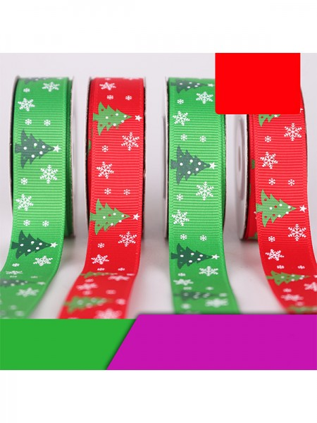 Excellent Tree Christmas Ribbons(5 Pieces)