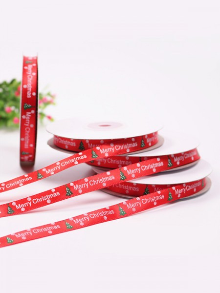 Gorgeous Tree Christmas Ribbons(2 Pieces)