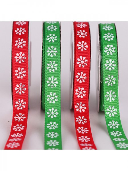 Nice Snowflake Christmas Ribbons(5 Pieces)