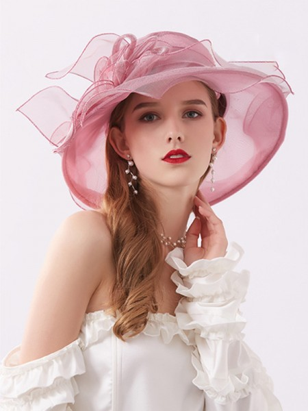 Ladies' Beautiful Silk Flower Kentucky Derby Hats/Tea Party Hats