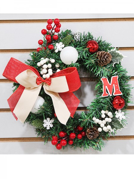 Christmas Trendy PVC Wreaths