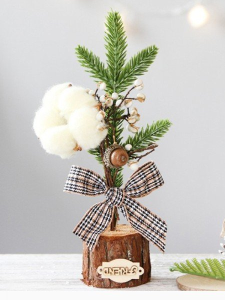 Gorgeous Iron With Bowknot Christmas Decoration