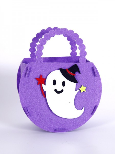 Halloween Unique Nonwoven Fabric Handbags For Children