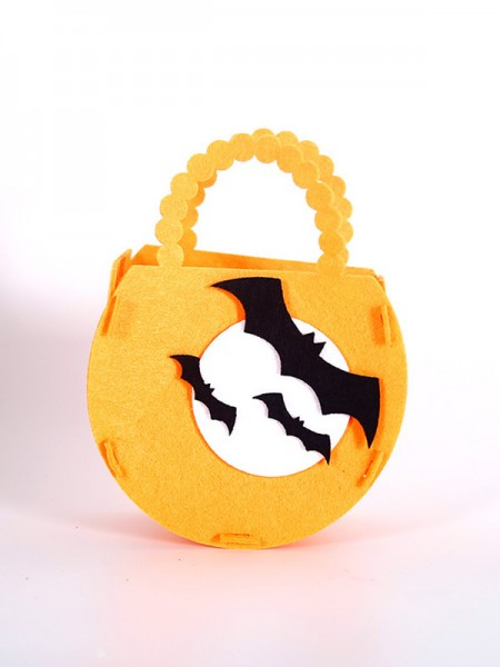 Halloween Bright Nonwoven Fabric Handbags For Children