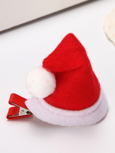 Christmas Graceful Cloth With Hat Hairpins