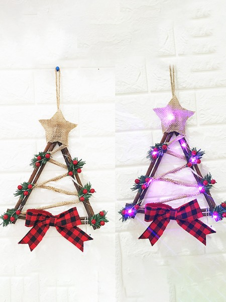 New Hot Wood Snowman Christmas Wreaths