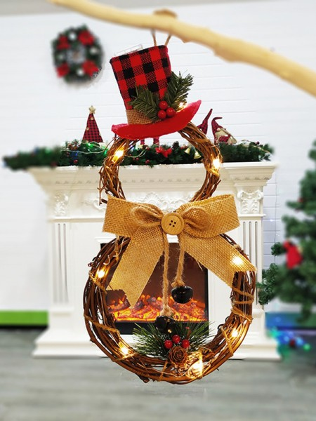 Trending Wood Triangle Christmas Wreaths