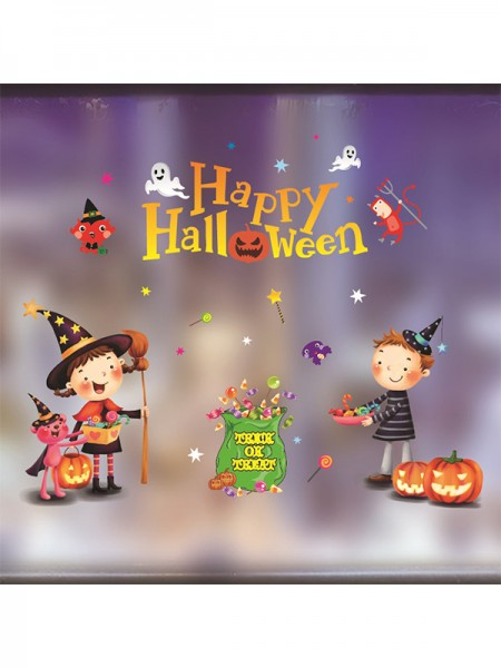 Halloween Amazing Paper Static Stickers