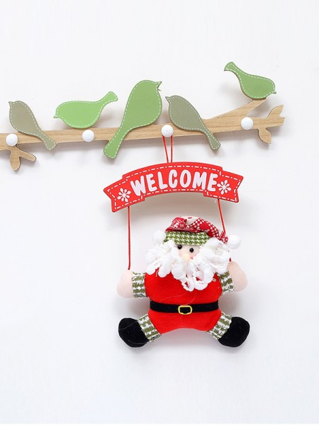 Lovely Iron With Santa Claus Christmas Decoration