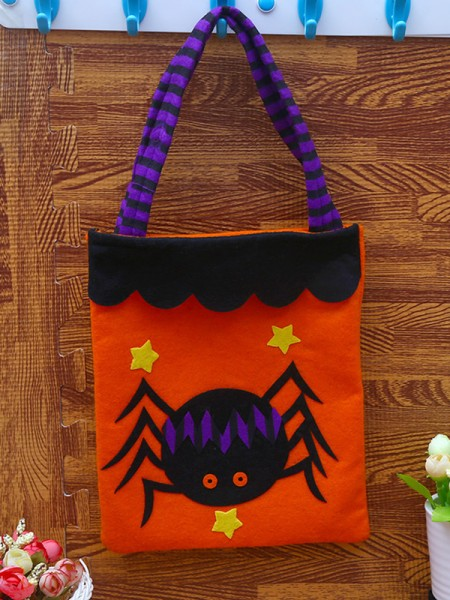 Halloween Lovely Nonwoven Fabric Handbags