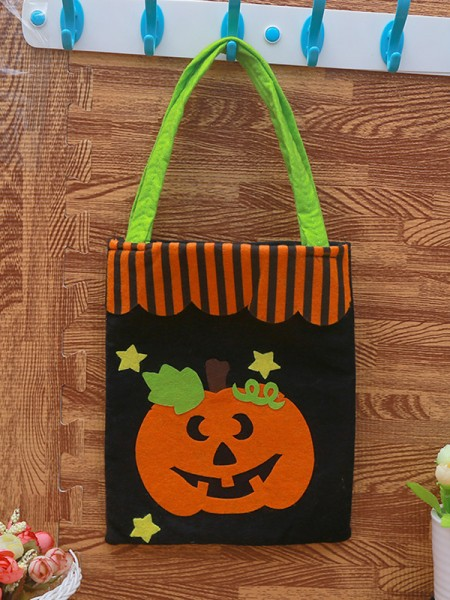 Halloween Cute Nonwoven Fabric Handbags
