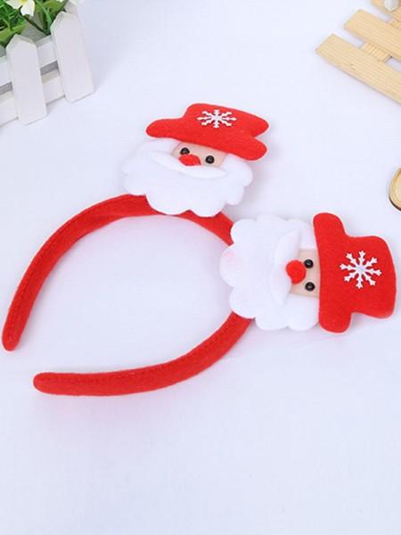 Christmas Glamorous Cloth With Santa Claus Headpieces