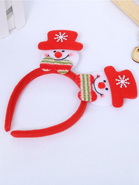 Christmas Lovely Cloth With Santa Claus Headpieces