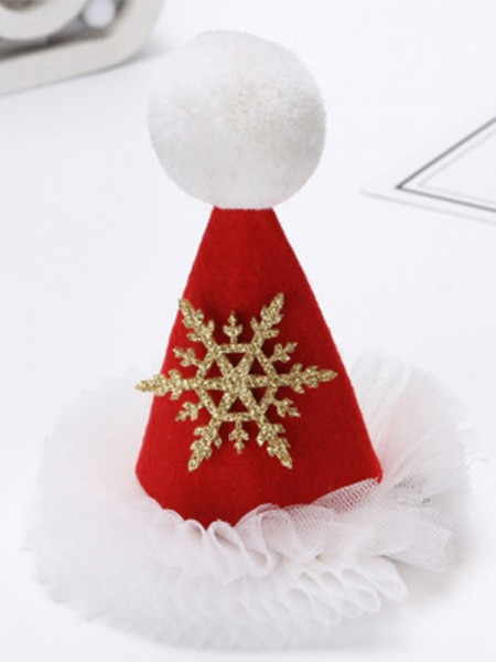 Christmas Unique Cloth With Hat Hairpins