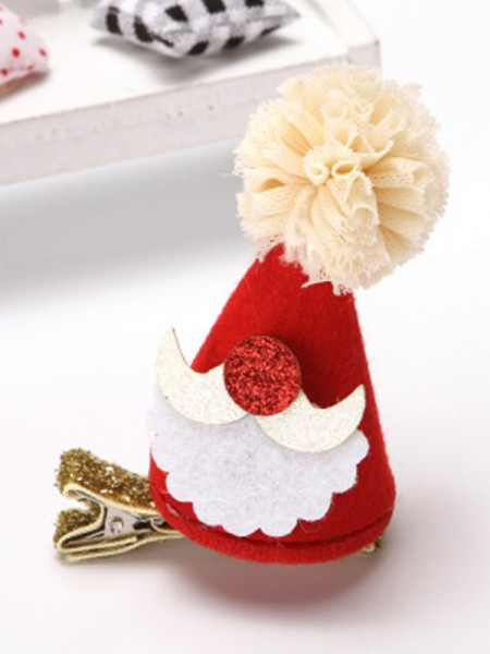 Christmas Awesome Cloth With Hat Hairpins