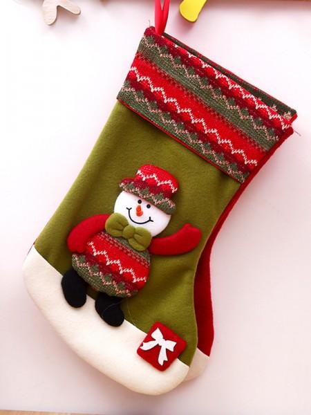 Christmas Beautiful Cloth Santa Socks
