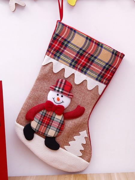 Christmas Charming Cloth Santa Socks