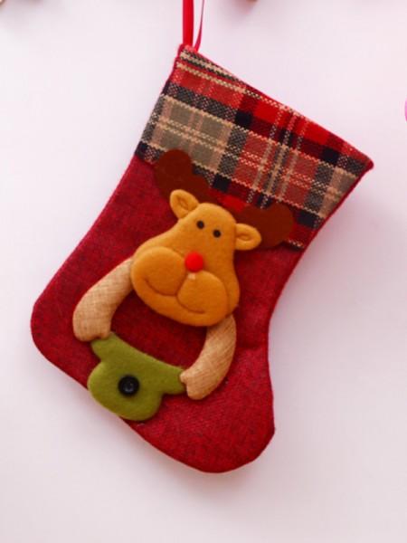 Christmas Graceful Cloth Santa Socks