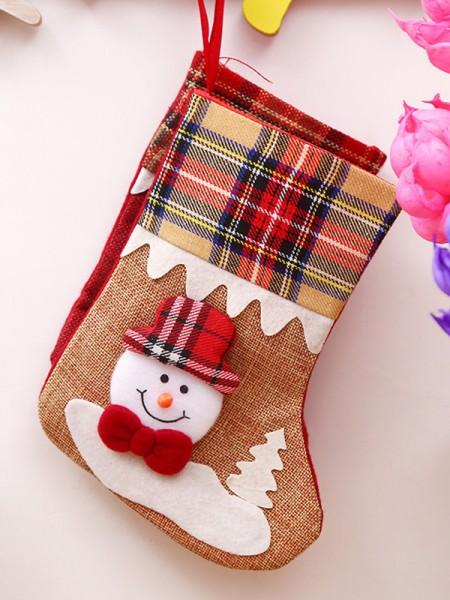 Christmas Lovely Cloth Santa Socks