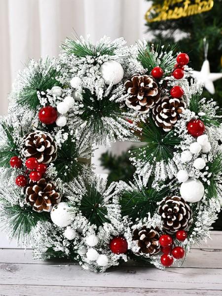 Luxurious PVC Christmas Wreaths