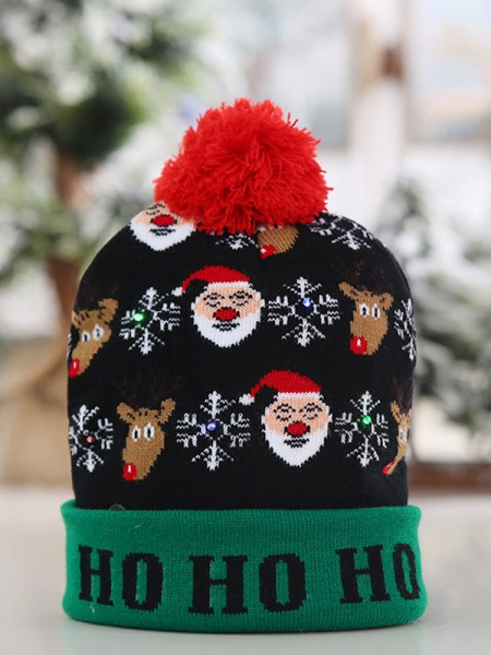 Christmas Awesome Polyester Hats