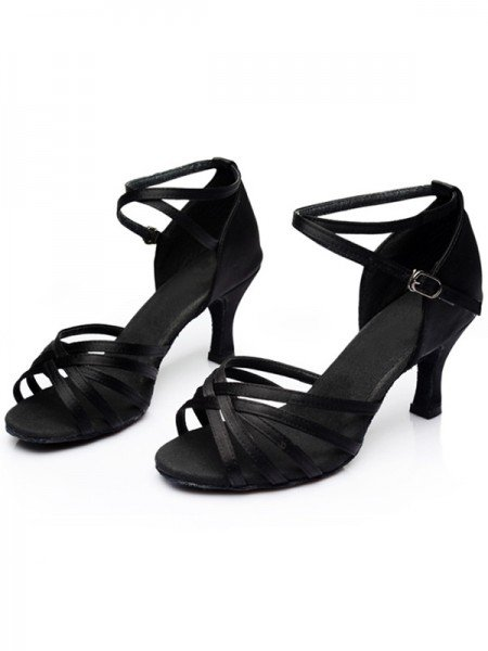 Women's Leatherette Kitten Heel Peep Toe Sandals