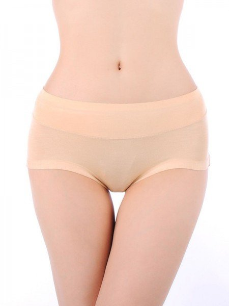 Simple Modal Seamless Plus Size Panties
