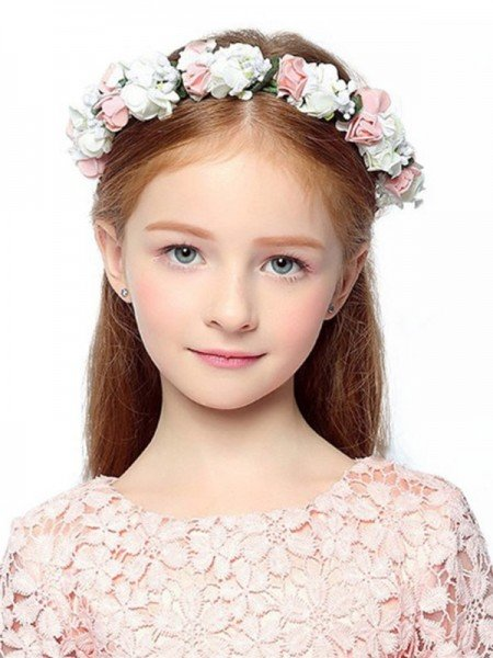 Gorgeous Plastic With Flower Flower Headbands