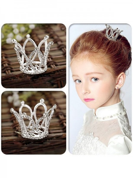 Unique Alloy With Rhinestone Headpieces