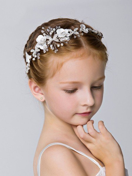 Fancy Alloy With Rhinestone Headbands