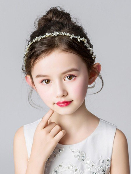 Trending Alloy With Imitation Pearl Headbands
