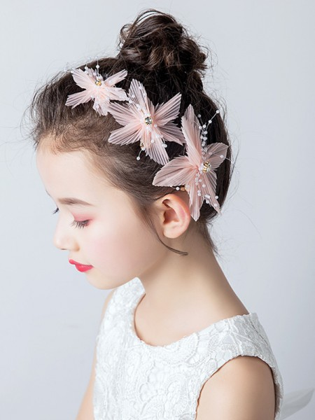 Beautiful Cloth With Imitation Pearl Headbands