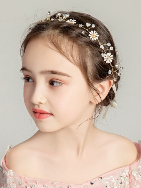 Fancy Alloy With Flower Headbands