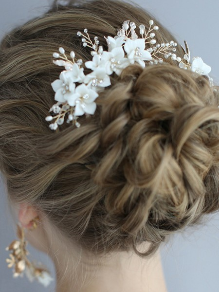 Trendy Alloy With Flower Headpieces