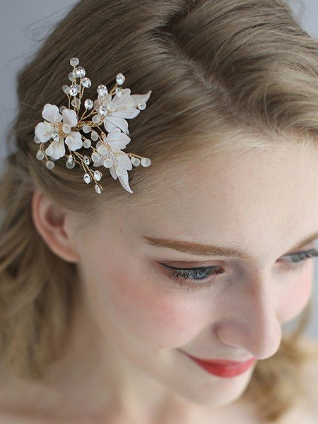 Fascinating Alloy With Flower Headpieces