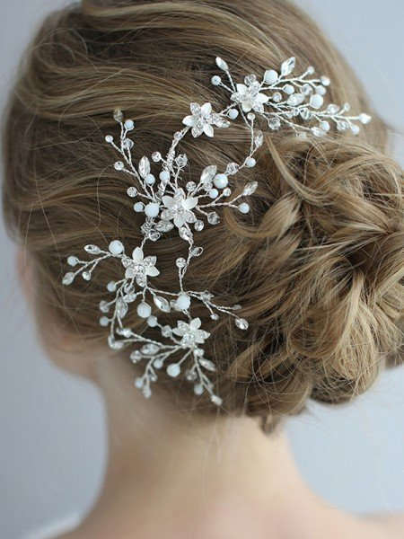 Stunning With Crystal Alloy Headpieces
