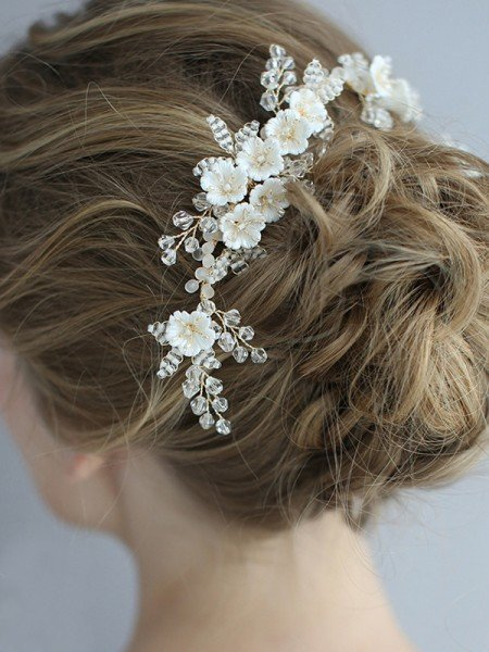 Awesome Alloy With Flower Headpieces