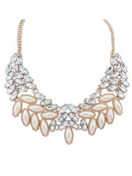 Occident Boutique Pearls Temperament Hot Sale Necklace