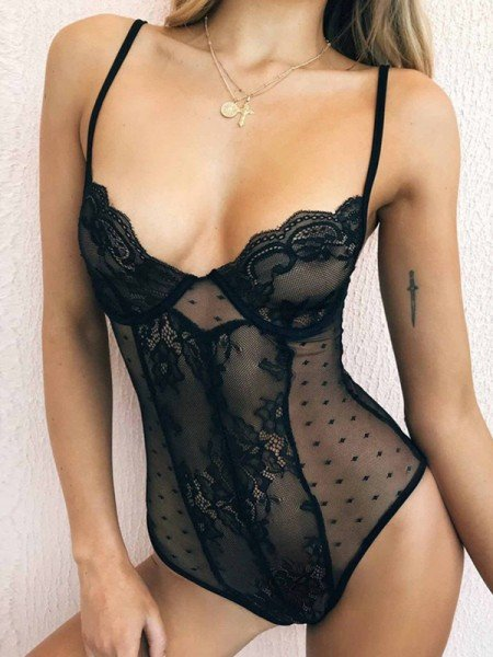 Attractive Lace Lingerie Sets