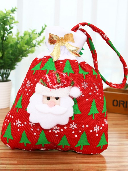 Beautiful Cloth With Santa Claus Christmas Decoration