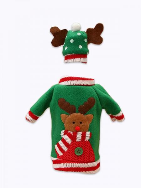 Christmas Pretty Good Deer Cloth Christams Decoration