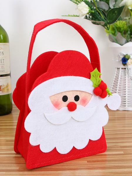 Christmas Gorgeous Santa Claus Cloth Handbags