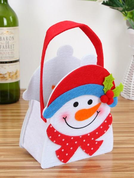 Christmas Fashion Snowman Cloth Handbags