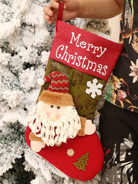Christmas Trending Santa Claus Wool Pendants