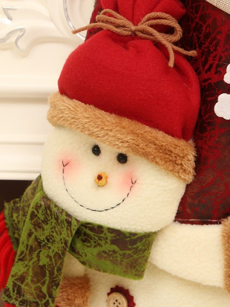 Christmas Graceful Snowman Wool Pendants