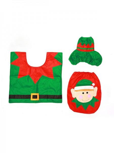 Christmas Fashion Cloth Toilet Cover