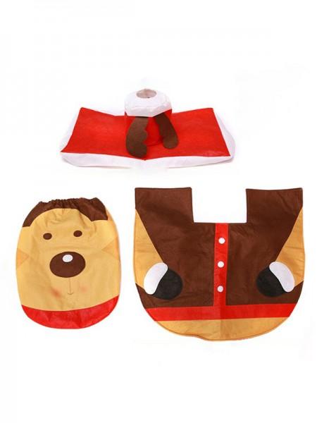 Christmas Trending Deer Cloth Toilet Cover