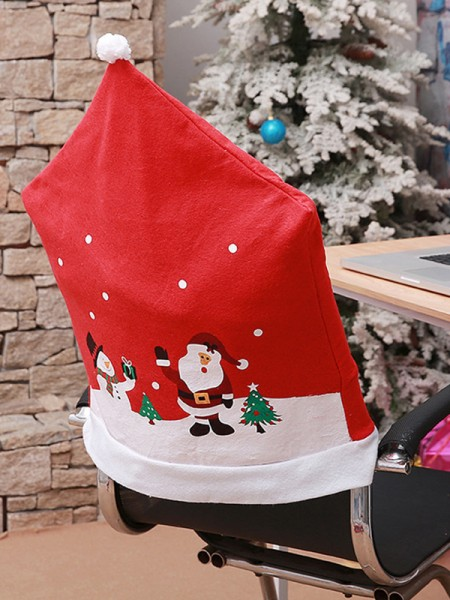 Christmas Excellent Snowman Cloth Seat Cover
